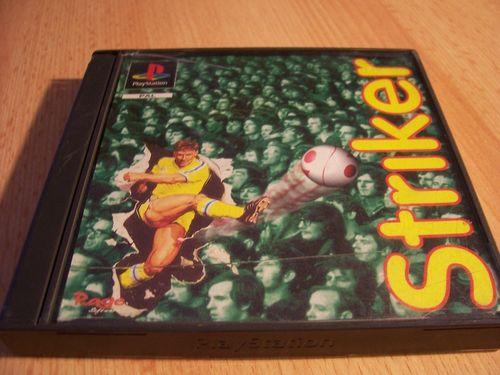 PlayStation 1 PS1 Spiel - Striker 96 1996  PSone PSX  USK 0  - komplett mit Anleitung  gebr.