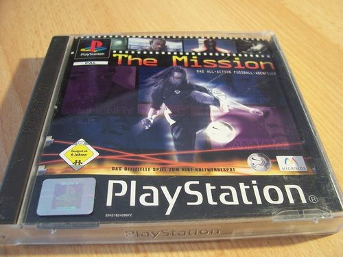 PlayStation 1 PS1 Spiel - The Mission - Nike  PSone PSX  USK 6  - komplett mit Anleitung  gebr.