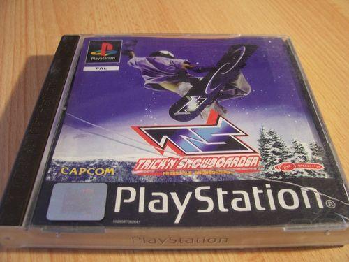 PlayStation 1 PS1 Spiel - TS Trick'N Snowboarder  PSone PSX  USK 0  - komplett mit Anleitung  gebr.