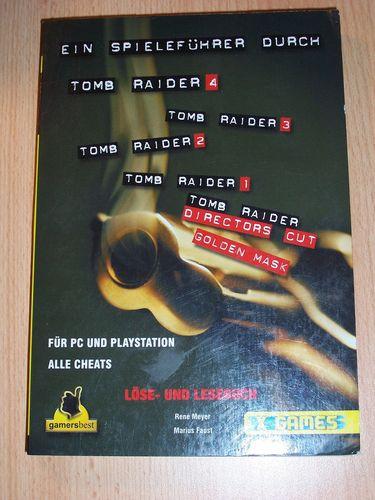 PlayStation 1 PS1 Lösungsbuch Spielführer Tomb Raider 1 2 3 4 I II III IV Directors Cut Mask  gebr.