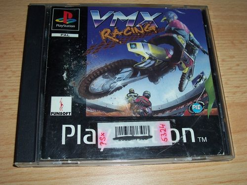 PlayStation 1 PS1 Spiel - VMX Racing - Motocross  PSone PSX  USK 6  - in Slimcase gebr.