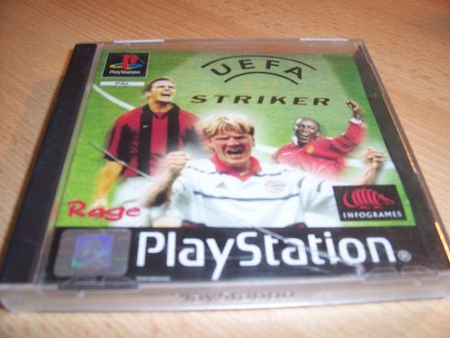 PlayStation 1 PS1 Spiel - UEFA Striker   PSone PSX  USK 0  - komplett mit Anleitung  gebr.