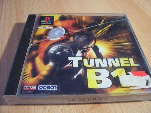 PlayStation 1 PS1 Spiel - Tunnel B1  PSone PSX  USK 6  - komplett mit Anleitung  gebr.