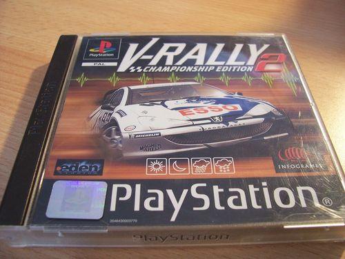 PlayStation 1 PS1 Spiel - V-Rally 2  PSone PSX  USK 6  - komplett mit Anleitung  gebr.