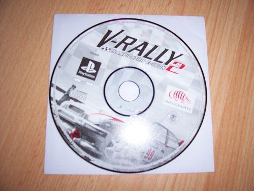 PlayStation 1 PS1 Spiel - V-Rally 2 - Championship Edition  PSone PSX  USK 6  - nur CD  gebr.