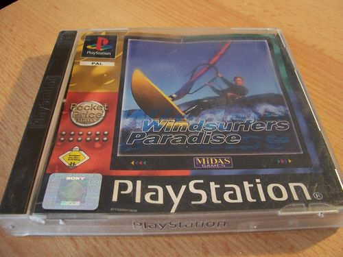 PlayStation 1 PS1 Spiel - Windsurfers Paradise  PSone PSX  USK 0  - komplett mit Anleitung  gebr.
