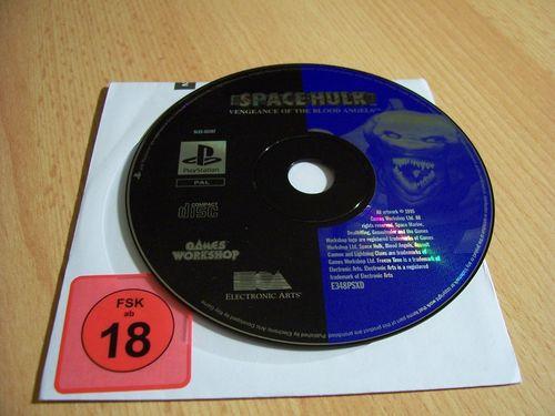 PlayStation 1 PS1 Spiel - Space Hulk Venegance of the Blood Angels PSone PSX  USK 18 - nur CD  gebr.