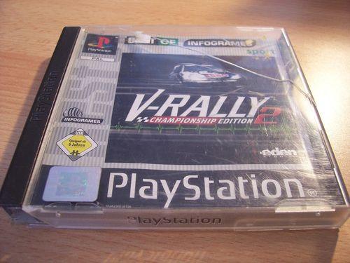PlayStation 1 PS1 Spiel - V-Rally 2 Best of  PSone PSX USK 6 komplett + Anleitung gebr.