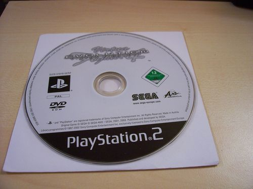 PlayStation 2 PS2 Spiel - Virtua Fighter 4 Evolution  USK 12  nur CD  gebr.
