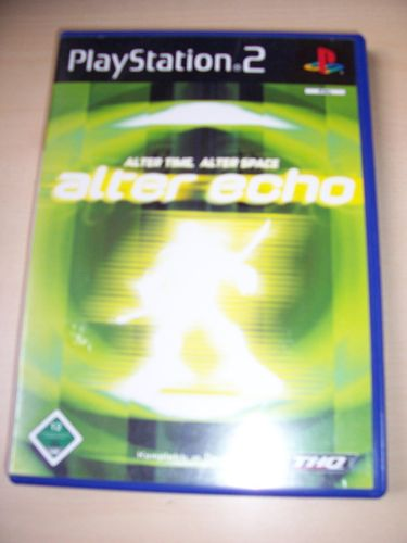 PlayStation 2 PS2 Spiel - Alter Echo - Alter Time, Alter Space  USK 12 komplett + Anleitung gebr.