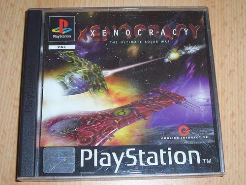 PlayStation 1 PS1 Spiel - Xenocracy  PSone PSX  USK 6  - komplett ohne Anleitung  gebr.