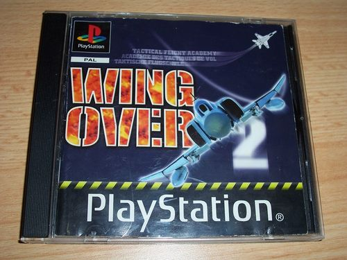 PlayStation 1 PS1 Spiel - Wing Over 2  PSone PSX  USK 0  - in Slimcase gebr.