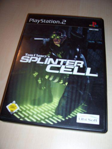 PlayStation 2 PS2 Spiel - Tom Clancy's Splinter Cell 1  USK 16 komplett + Anleitung  gebr.