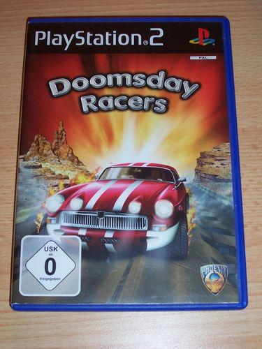 PlayStation 2 PS2 Spiel - Doomsday Racers  USK 0 komplett + Anleitung gebr.