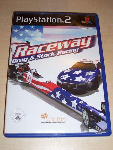PlayStation 2 PS2 Spiel - Raceway Drag & Stock Racing USK 0 komplett + Anleitung 5036675013088 gebr.