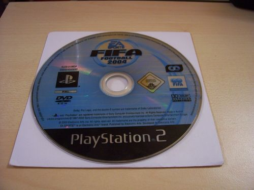 PlayStation 2 PS2 Spiel - FIFA Football 2004 04  USK 0  nur CD  gebr.