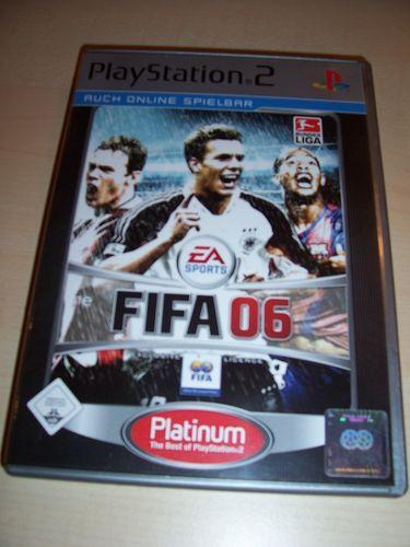 PlayStation 2 PS2 Spiel - FIFA Football 2006 06 Platinum USK 0 komplett + Anleitung gebr.