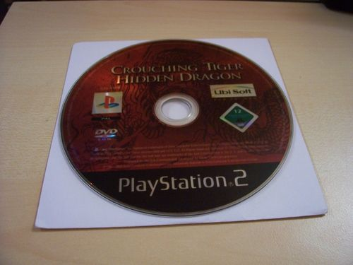 PlayStation 2 PS2 Spiel - Tiger & Dragon / Crouching Tiger Hidden Dragon  USK 12  nur CD  gebr.