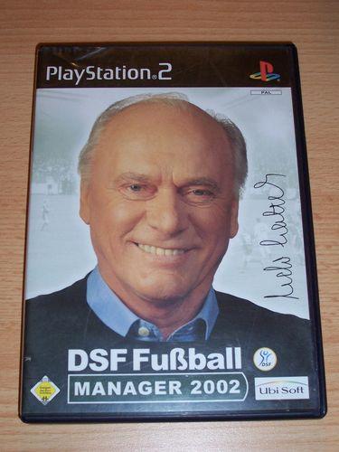PlayStation 2 PS2 Spiel - DSF Fußball Manager 2002  USK 0 komplett + Anleitung gebr.
