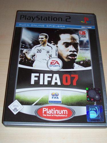 PlayStation 2 PS2 Spiel - FIFA Football 2007 07  Platinum  USK 0 komplett + Anleitung gebr.