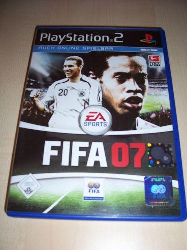 PlayStation 2 PS2 Spiel - FIFA Football 2007 07  USK 0 komplett + Anleitung gebr.