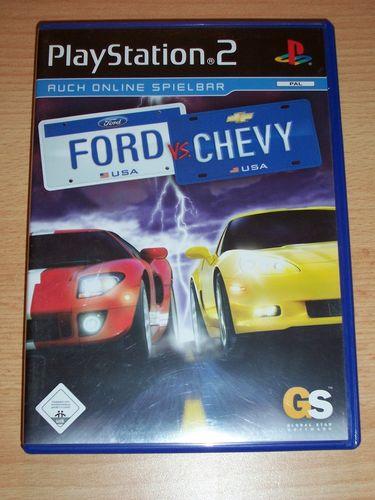 PlayStation 2 PS2 Spiel - Ford vs. Chevy  USK 0 komplett + Anleitung gebr.