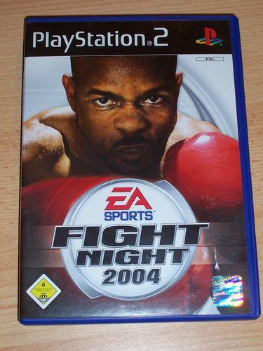 PlayStation 2 PS2 Spiel - EA Sports Fight Night 2004  USK 6 komplett + Anleitung gebr.