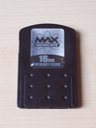 PlayStation 2 PS2 Memory Card  von MAX Memory mit 16MB 16 MB Speicherkarte  gebr.