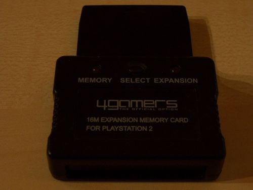 PlayStation 2 PS2 Memory Card Expansion Dock  von 4gamers mit 16MB 16 MB Speicherkarte  gebr.