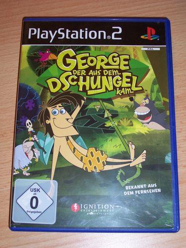 PlayStation 2 PS2 Spiel - George der aus dem Dschungel kam  USK 0 komplett ohne Anleitung gebr.