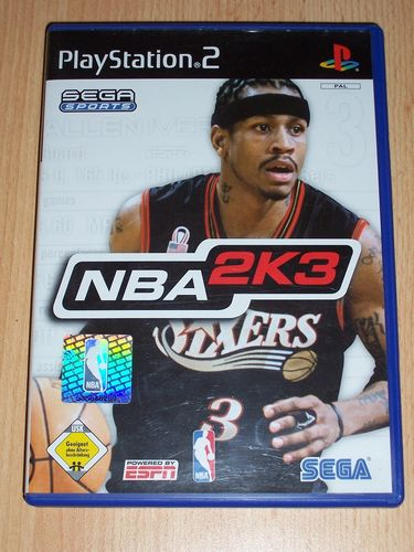 PlayStation 2 PS2 Spiel - NBA 2003 2K3  USK 0 komplett + Anleitung gebr.