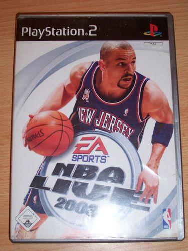 PlayStation 2 PS2 Spiel - NBA Live 2003  EA Sports  USK 0 komplett + Anleitung gebr.