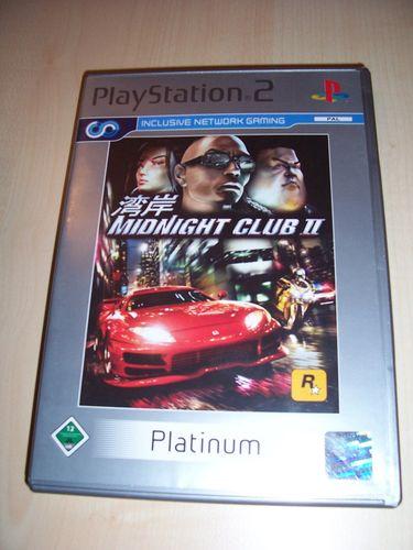 PlayStation 2 PS2 Spiel - Midnight Club II 2  Platinum  USK 12 komplett + Anleitung gebr.