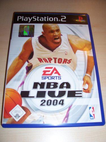 PlayStation 2 PS2 Spiel - NBA Live 2004  EA Sports  USK 0 komplett + Anleitung gebr.