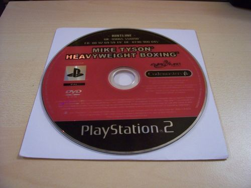 PlayStation 2 PS2 Spiel - Mike Tyson - Heavyweight Boxing  USK 6  nur CD  gebr.