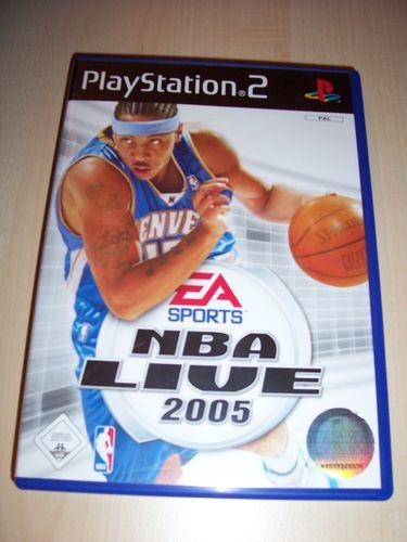 PlayStation 2 PS2 Spiel - NBA Live 2005  EA Sports  USK 0 komplett ohne Anleitung gebr.
