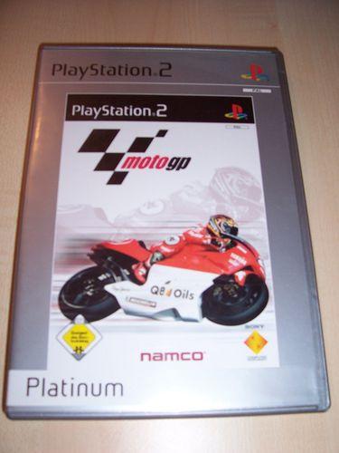 PlayStation 2 PS2 Spiel - MotoGP 1 Platinum  USK 0 komplett + Anleitung gebr.