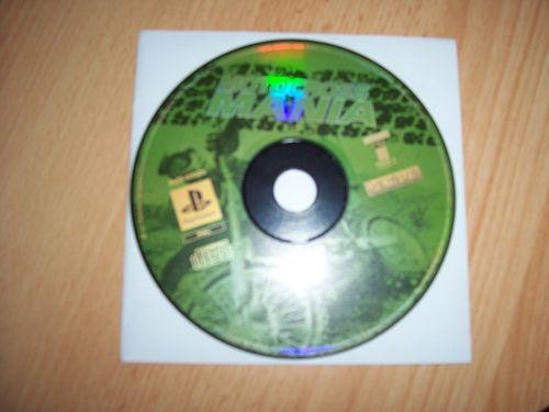 PlayStation 1 PS1 Spiel - Motocross Mania 1  PSone USK 0  - nur CD  gebr.