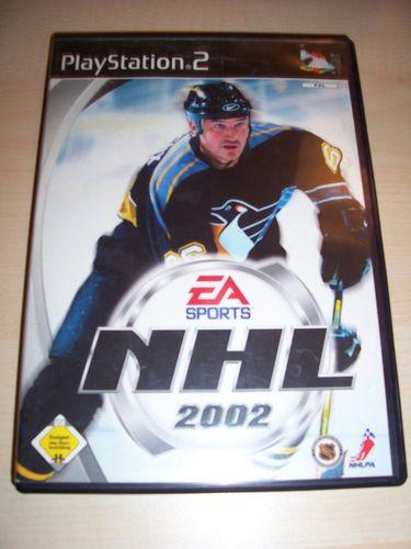 PlayStation 2 PS2 Spiel - NHL 2002  EA Sports  USK 0 komplett + Anleitung gebr.