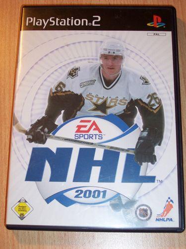 PlayStation 2 PS2 Spiel - NHL 2001  EA Sports  USK 0 komplett + Anleitung gebr.