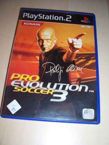 PlayStation 2 PS2 Spiel - Pro Evolution Soccer 2003 PES 3  USK 0 komplett + Anleitung gebr.