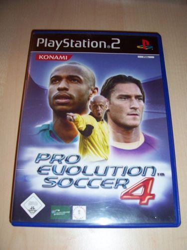 PlayStation 2 PS2 Spiel - Pro Evolution Soccer 2004 PES 4  USK 0 komplett + Anleitung gebr.