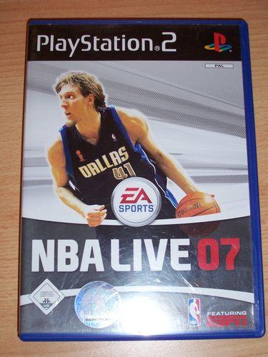 PlayStation 2 PS2 Spiel - NBA Live 2007 07  EA Sports  USK 0 komplett + Anleitung gebr.