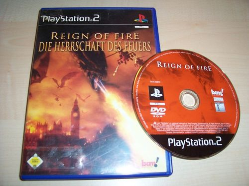 PlayStation 2 PS2 Spiel - Reign of Fire Die Herrschaft des Feuers USK 16 komplett + Anleitung  gebr.
