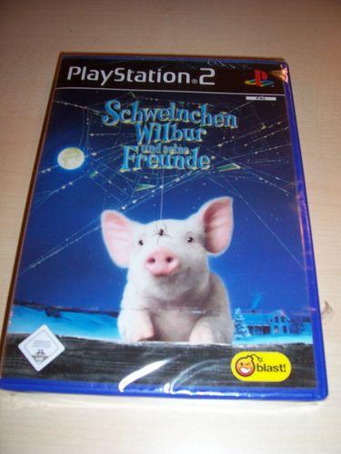PlayStation 2 PS2 Spiel - Schweinchen Wilbur und seine Freunde  USK 0 komplett + Anleitung  gebr.