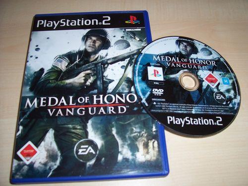 PlayStation 2 PS2 Spiel - MOH Medal of Honor 4 - Vanguard USK 18 komplett + Anleitung gebr.