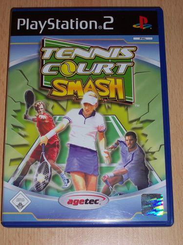 PlayStation 2 PS2 Spiel - Tennis Court Smash  USK 0 komplett + Anleitung  gebr.