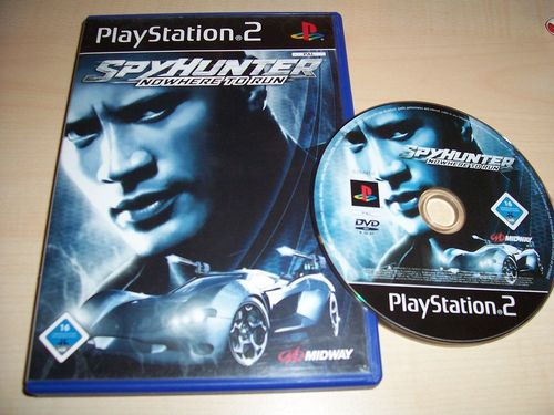 PlayStation 2 PS2 Spiel - Spy Hunter 3 - Nowhere to Run  USK 16 komplett + Anleitung  gebr.