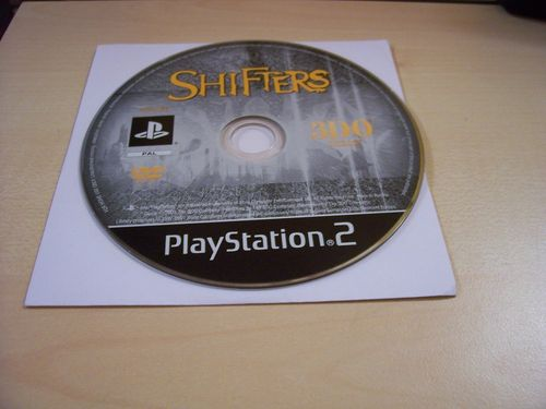PlayStation 2 PS2 Spiel - Shifters - Combat takes a new Form  USK 12  nur CD  gebr.
