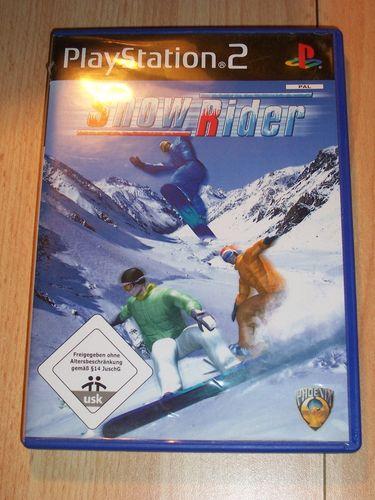 PlayStation 2 PS2 Spiel - Snow Rider  USK 0 komplett + Anleitung  gebr.